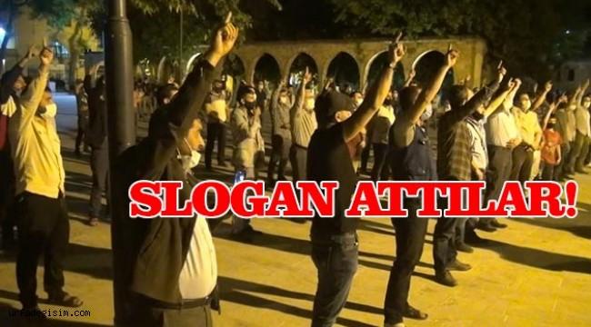 Şanlıurfalılar İsrail'i protesto etti!