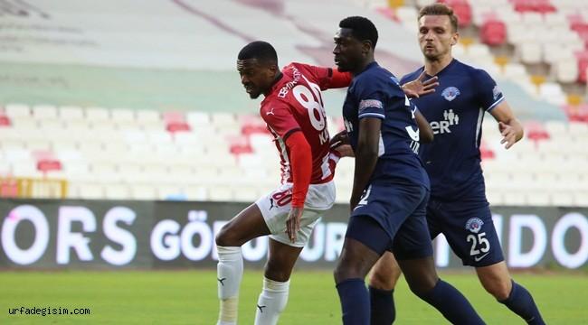 Sivasspor 13. Galibiyetini Kasımpaşa ile aldı
