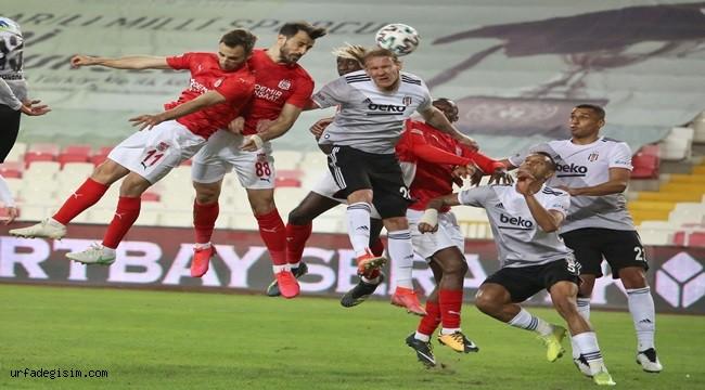 Sivasspor'un gözü kulağı Beşiktaş maçında!