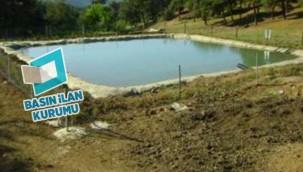 Su toplama çukuru yaptırılacak