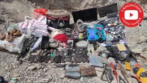 Terör örgütü PKK'ya darbe vurmaya devam