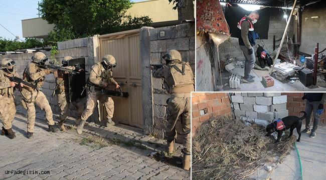 Urfa'da uyuşturucu operasyonu: 13 gözaltı