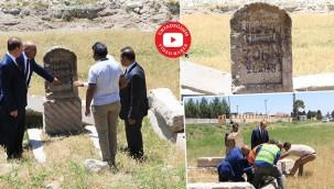 Çatışmalara şahitlik eden meçhul mezar