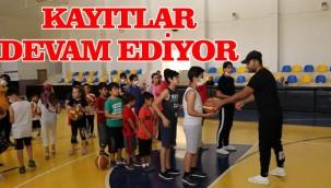 Çocuklar için basketbol kursu açıldı!