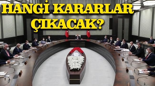 Cumhurbaşkanlığı kabinesi toplanıyor!