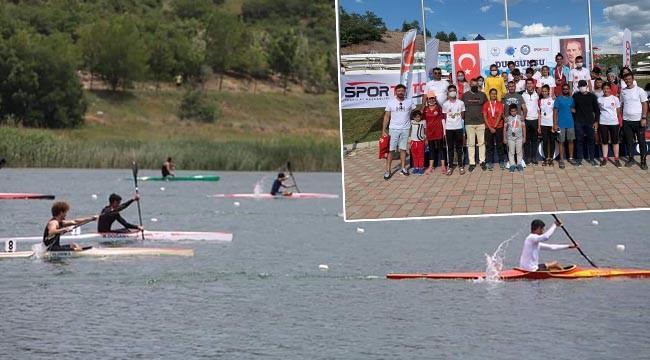 Gençler, kano yarışlarına damga vurdu