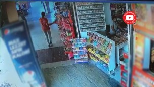 Haliliye'de hırsız patates cipsi çaldı