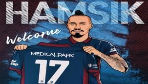 Hamsik Trabzonspor'un 154. yabancı transferi oldu