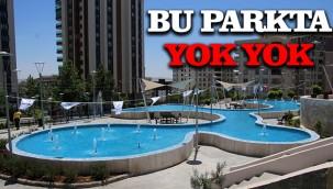 Karaköprü'de modern park hizmete açıldı