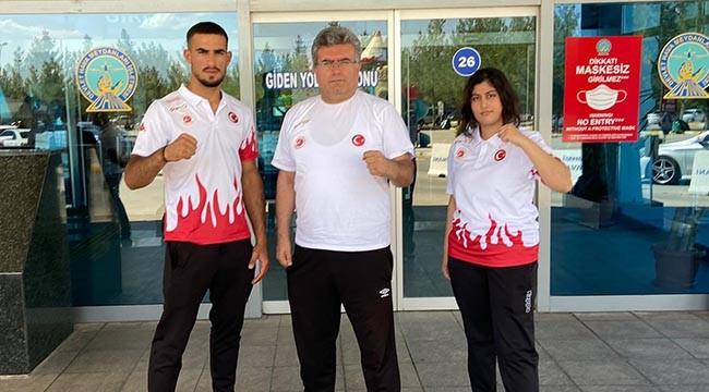 Kick Boksçular, Şanlıurfa'yı Özbekistan da temsil edecek