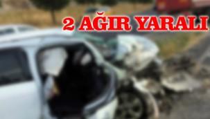 Otomobil takla attı! Sürücü ve yanındaki yaralandı!