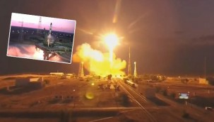 Rusya, Uluslararası Uzay İstasyonu'na kargo aracı fırlattı