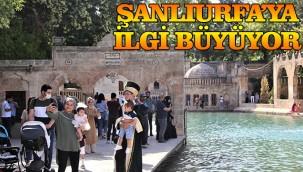 Şanlıurfa'da turizm hareketliliği başladı!