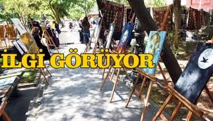 Şanlıurfa'nın ilçesinde el sanatları sergisi açıldı