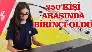 Şanlıurfalı Elif Kanada piyano yarışmasında birinci oldu!