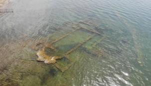 Tarihî yapı sulara gömüldü