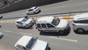 Urfa'da zincirleme trafik kazası!