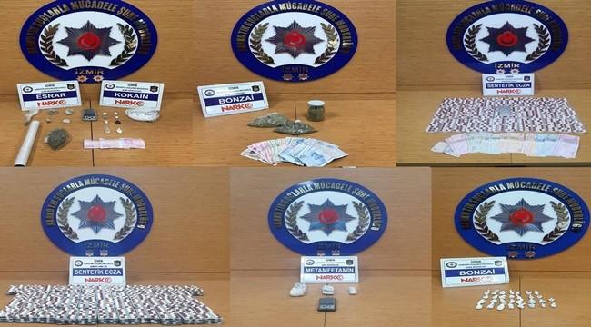 Uyuşturucu operasyonları: 16 kişi tutuklandı
