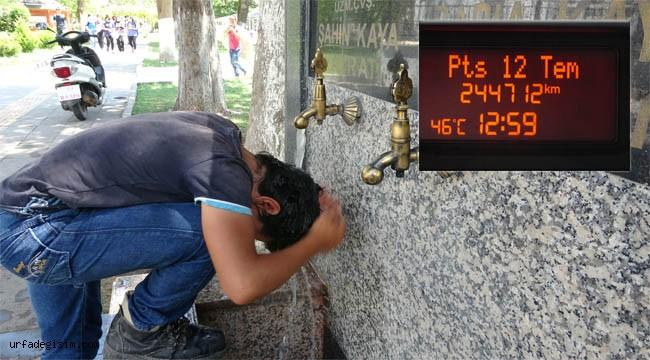 Adıyaman'da termometreler 46 dereceyi gösterdi
