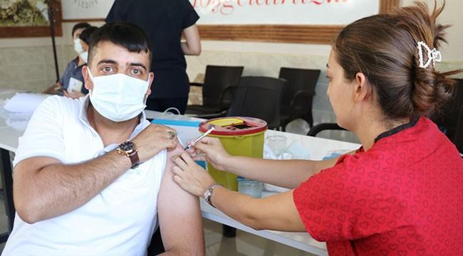 Akçakale'de aşı seferberliği