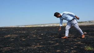 Anız yangınları ürünün kalitesini ve verimini düşürüyor