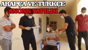 Anonsla vatandaşları aşıya davet ettiler!