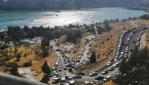 Halfeti'de Bayram'da ziyaretçi rekoru kırıldı