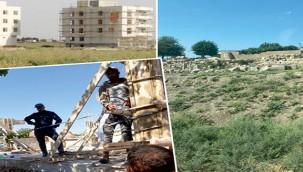 Harran'da betonlaşma devam ediyor