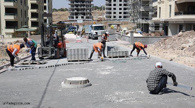 Karaköprü'de yeni yollar hazırlanıyor