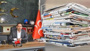 MHP İl Başkanı Güneş'ten Gazeteciler Günü mesajı