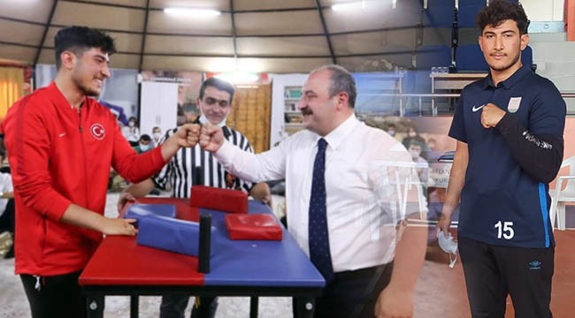 Milli sporcu Türkiye ikincisi oldu