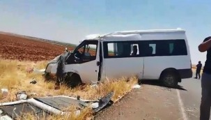 Minibüs ile cip çarpıştı; 5 yaralı
