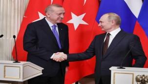 Putin ile Erdoğan, Türkiye'deki yangınları görüştü