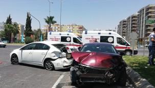 Şanlıurfa'da feci kaza yaralılar var!!!