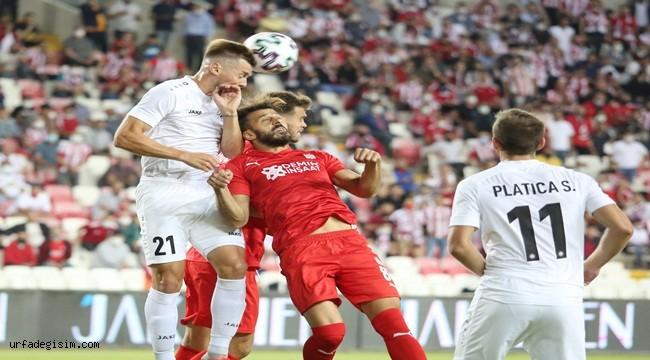 Sivasspor: 0 - Petrocub Hincesti: 0