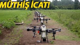 Zirai insansız hava aracı tarımda verimliliği artıracak!