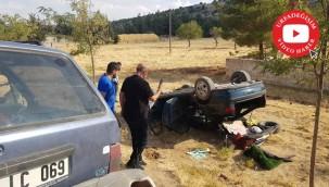 3 otomobil çarpıştı: 4'ü ağır 6 yaralı