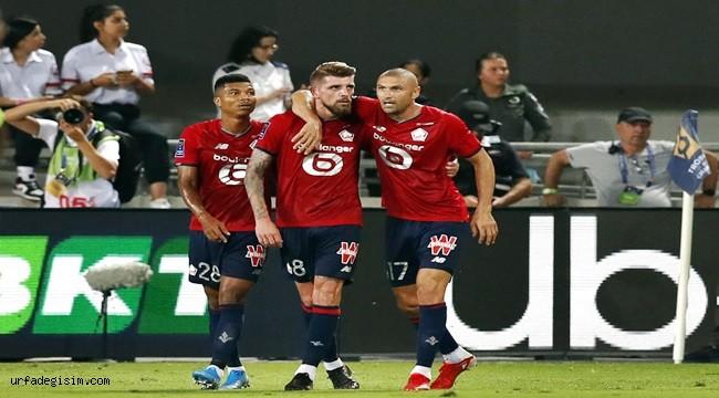 Lille, Fransa Süper Kupası'nın sahibi