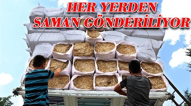 Yangın bölgesindeki besicilere Türkiye genelinden destek!