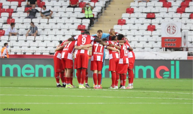 Antalyaspor ile Karagümrük 16. randevuda
