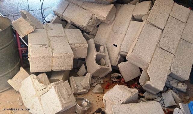 Duvar yıkıldı! Kadın altında kaldı
