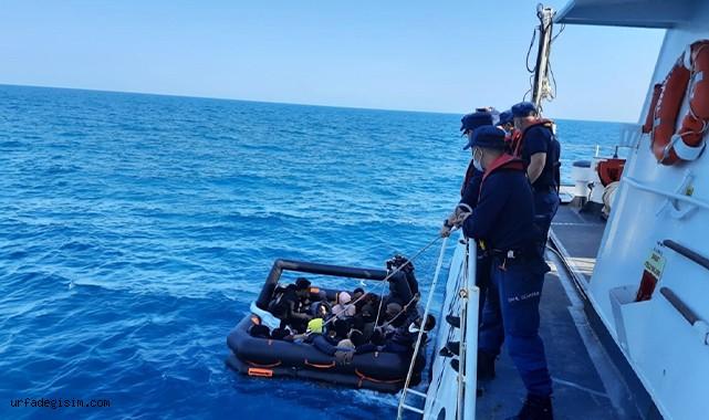 53 düzensiz göçmen kurtarıldı!