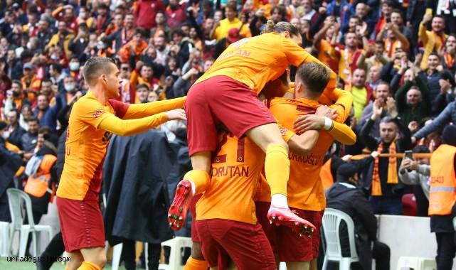 Galatasaray'dan üst üste 3. galibiyet
