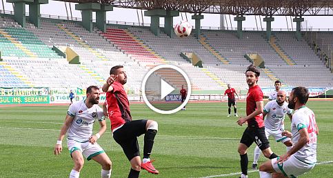 Karaköprü Belediyespor - Cizrespor maçının özeti