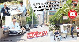 Modern mahallede 'Seyyar Muhtarlık'