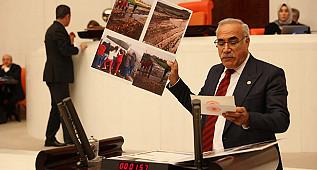 Urfa'nın hizmetsizlik tablosu Mecliste